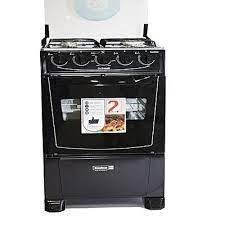 Scanfrost 4 Burner Standing Gas Cooker With Oven - CK5400 - Black