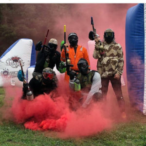 Paintball for 5 people | Ultimate Arena Paintball | Magodo