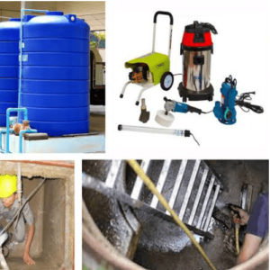 Big water Tank Cleaning| James Janitorial Services |Ikeja